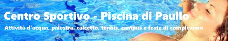 Centro Sportivo - Piscina di Paullo